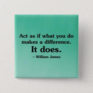 Badges Ce que vous faites peut faire une différence