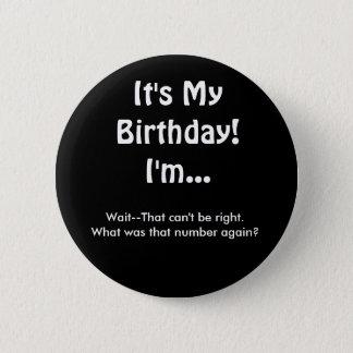 Badges Ce qui est ce bouton d'anniversaire de nombre
