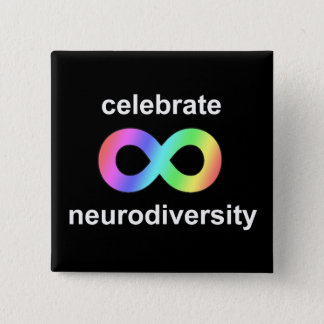 Badges Célébrez le neurodiversity