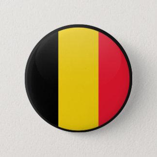 Badges Cercle de drapeau de qualité de la Belgique