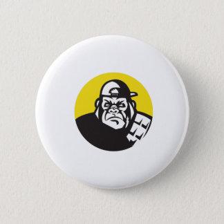 Badges Cercle fâché de casquette de baseball de tête de
