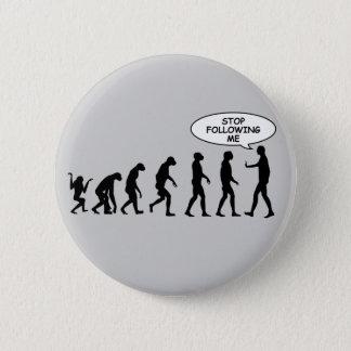 Badges Cessez de me suivre des boutons