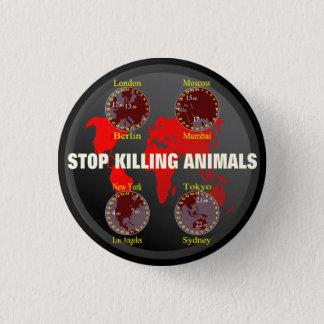 Badges Cessez de tuer des animaux
