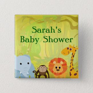 Badges C'est un baby shower de jungle