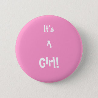 Badges C'est une fille ! Pin