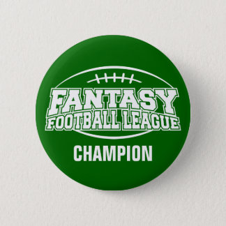Badges CHAMPION du football FFL d'imaginaire