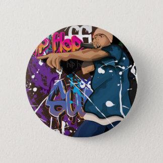 Badges chanteur de hip hop