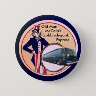 Badges Charabia de McCain, bouton exprès