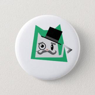 Badges Chat de monocle