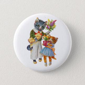 Badges Chats d'Arthur Thiele soutenant des cadeaux