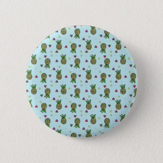Badges Chaux Citron de fruit de pastèque d'ananas