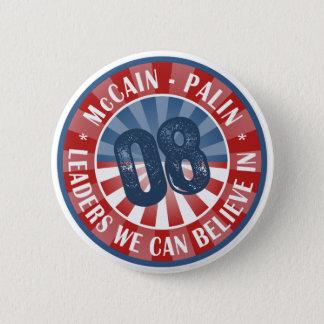 Badges Chefs de McCain Palin que nous pouvons croire