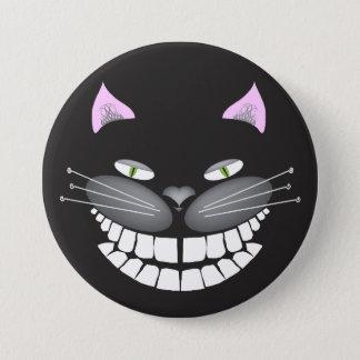 """Badges Chester le chat de Cheshire sur un 3"""" bouton rond"""