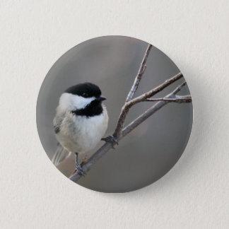Badges Chickadee couvert par noir