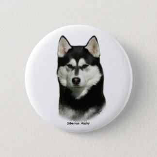 Badges Chien de traîneau sibérien