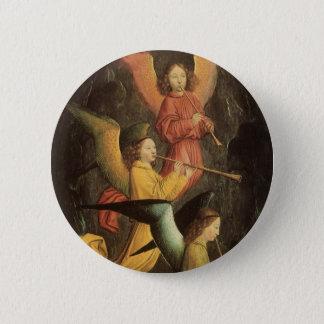 Badges Choeur des anges par Simon Marmion, art de