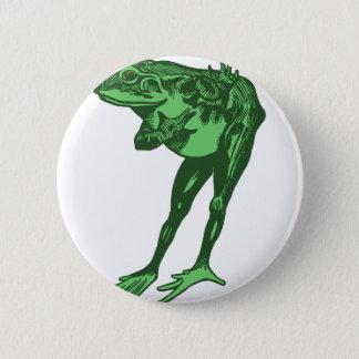 Badges Cintrage de grenouille verte