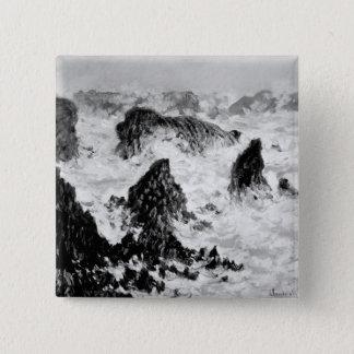 Badges Claude Monet | les roches du Belle-Ile, 1886