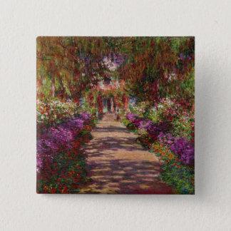 Badges Claude Monet | une voie dans le jardin de Monet