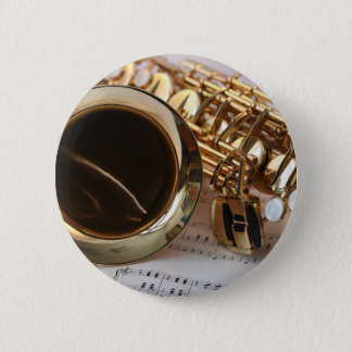 Badges Clés de Notenblatt de lustre d'or de musique de