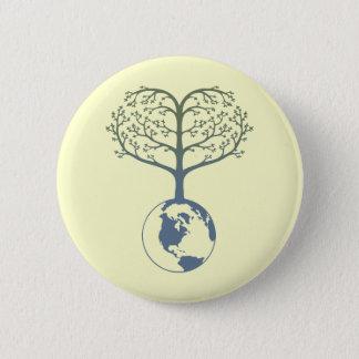 Badges Coeur d'arbre de la terre