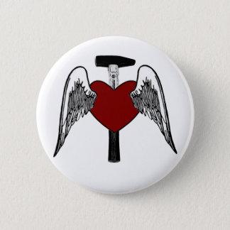 Badges Coeur de marteau