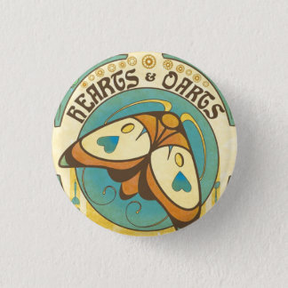 Badges Coeurs et Pin de bouton de mite de Nouveau d'art