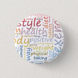 Badges Concept de forme physique pour la perte de poids