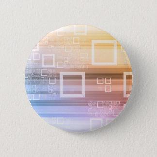 Badges Concept du trafic de train de données de données