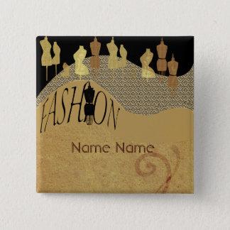 Badges Concepteur de couture de métier d'ouvrière