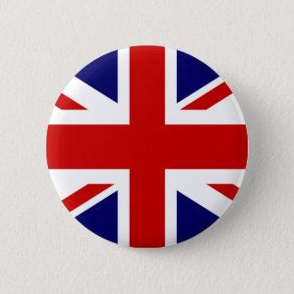 Badges Conception britannique du bouton | Union Jack de