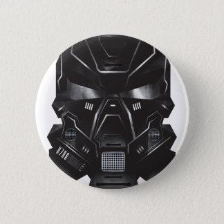 Badges conception de casque d'art de concept de geek de