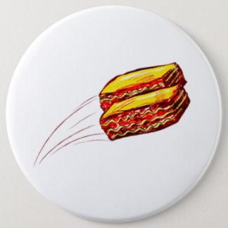 Badges conservez le lasagne piloter le bouton rond
