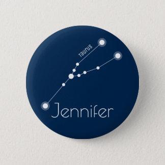 Badges Constellation personnalisée de zodiaque de Taureau