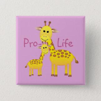 Badges Contre l'avortement et l'euthanasie