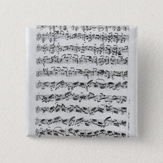 Badges Copie de 'Partita dans le mineur de D pour Violin