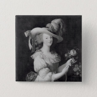 Badges Copie d'un portrait de Marie-Antoinette