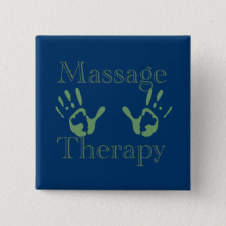 Badges Copies de main de thérapie de massage