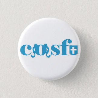Badges Cosfu - logo blanc simple