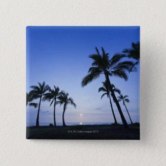 Badges Coucher du soleil sur la baie de Kahaluu dans