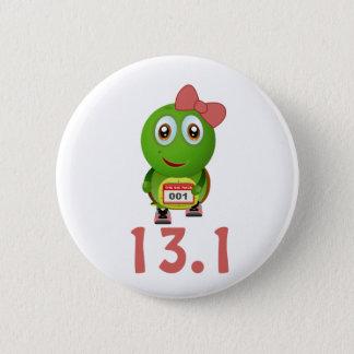 Badges Coureur 13,1 de tortue de fille