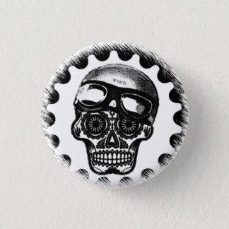 Badges Coureur de café de crâne de sucre de W'nR'n