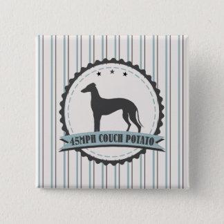 Badges Coureur retraité par lévrier animal paresseux de