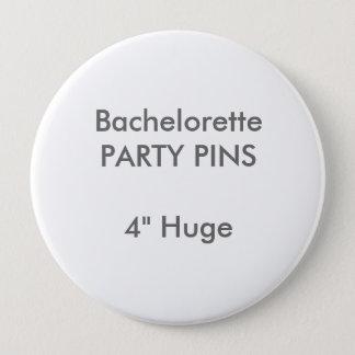 """Badges Coutume 4"""" Pin rond énorme de partie de"""