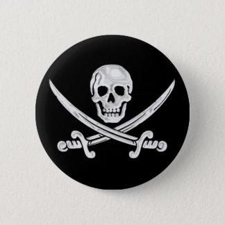 Badges Crâne de jolly roger
