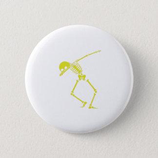 Badges Crâne squelettique tamponnant de hip hop de Dabbin