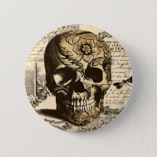 Badges Crâne vintage