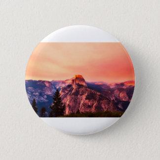 Badges Crépuscule de parc national de Yosemitie