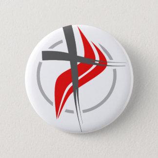 Badges Croix chrétienne/méthodiste