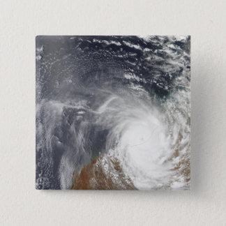 Badges Cyclone tropical Laurence au-dessus d'Australi